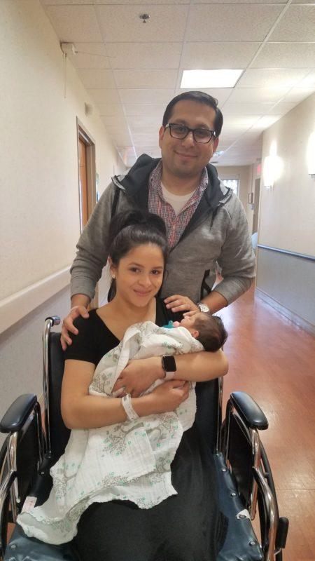 Representative Diego Bernal and family