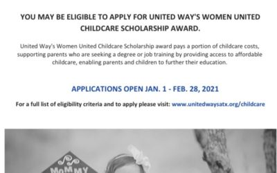 Women United Childcare Scholarship Award